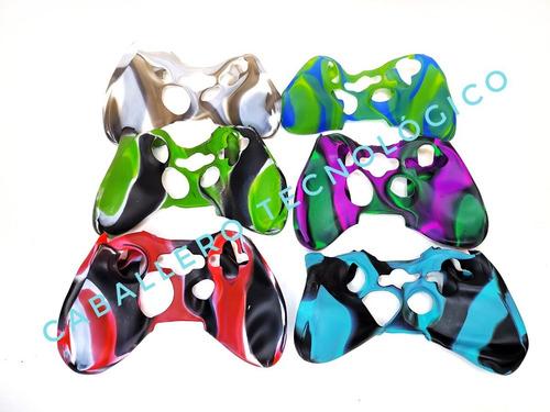 Forros En Silicona Funda Control Xbox 360 Colores