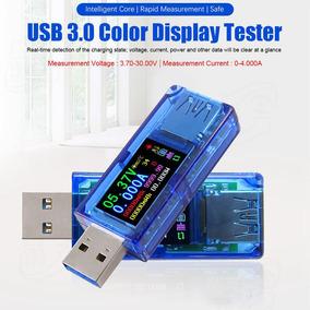 Usb 3.0 Ips Testador Hd Tela Cor Voltímetro Tensão Amperímet