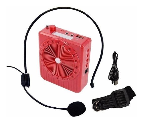 Amplificador Megafone Microfone Kit Completo Professor Verme