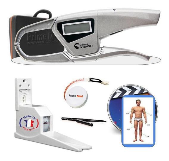 Adipômetro Digital Científico Dgi Prime Med + Estadiometro