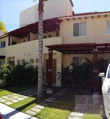 Cad Terrasol Residencial Diamante Villa 644. Roof Garden Con Vista A Jardines Y Alberca