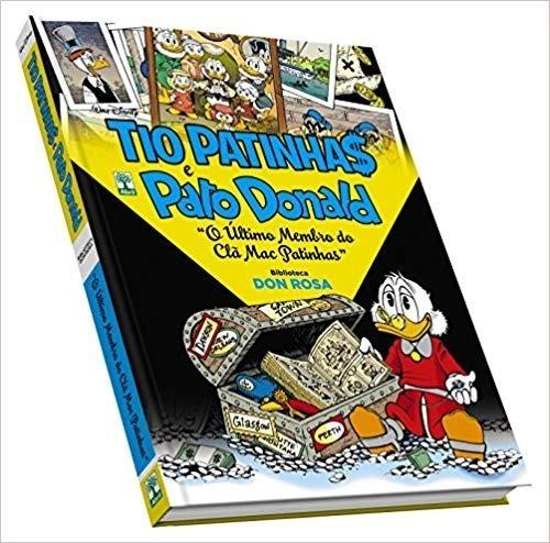 Tio Patinhas E Pato Donald. Don Rosa. Capa Dura. 192 Pg.