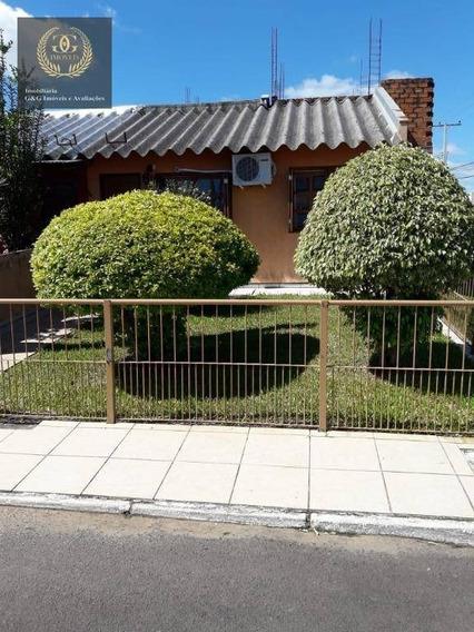 Casa Com 1 Dormitório À Venda, 131 M² Por R$ 265.000,00 - Aparecida - Alvorada/rs - Ca0320