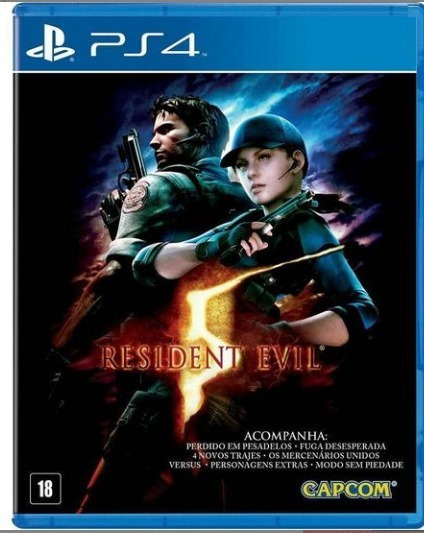 Game Resident Evil 5 Playstation 4