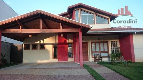 Imagem 1 de 27 de Casa Residencial À Venda, Loteamento Residencial Jardim Villagio Ii, Americana. - Ca1337