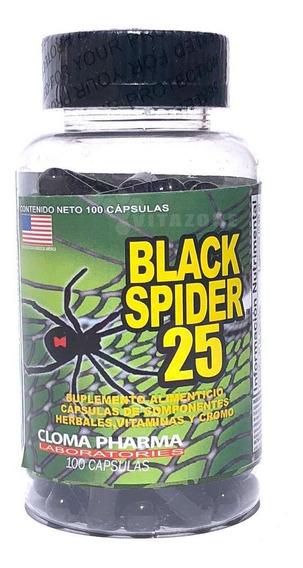 Black Spider 25 100 Cápsulas Cloma Pharma