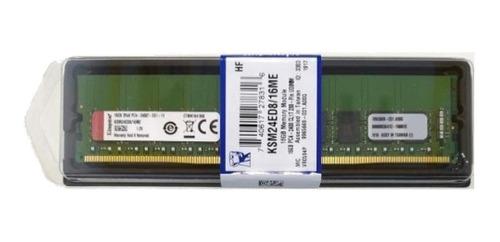 Memória RAM  16GB 1x16GB Kingston KSM24ED8/16ME