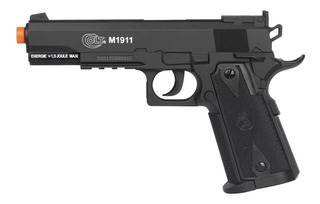 Pistola Airsoft Colt 1911 Co2 Slide Fixo Cybergun Polímero