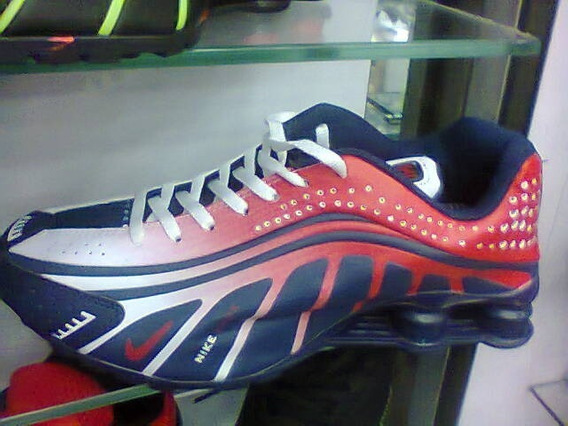Tenis Nike Shox Neymar Jr Azul E Vermelho Nº40 Original!!!