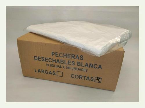 10 Bolsas Pecheras Polietileno Desechables