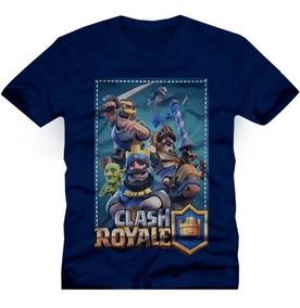 Camiseta Clash Royale - Camiseta Game Infantil E Adulto
