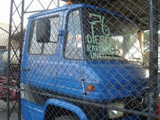 D40,f350,mb 608 Ano 76 Cor Azul Original Sem Carroceria