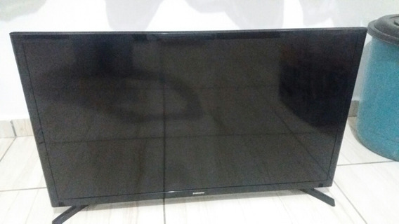 Tv 32 Samsung Un32j4300ag (display Trincado) Tv P/tirar Peça
