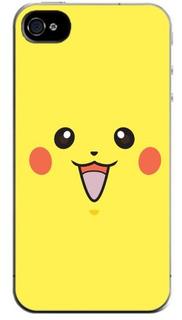 Capinha Anime Pokémon Pikachu- iPhone 6 6 Plus