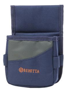 Cartuchera Beretta Tiro Caza Escopeta 25 Tiros Color Azul