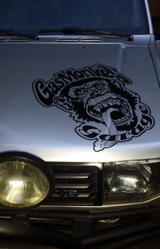Sticker Calcomania De Gas Monkey Garage