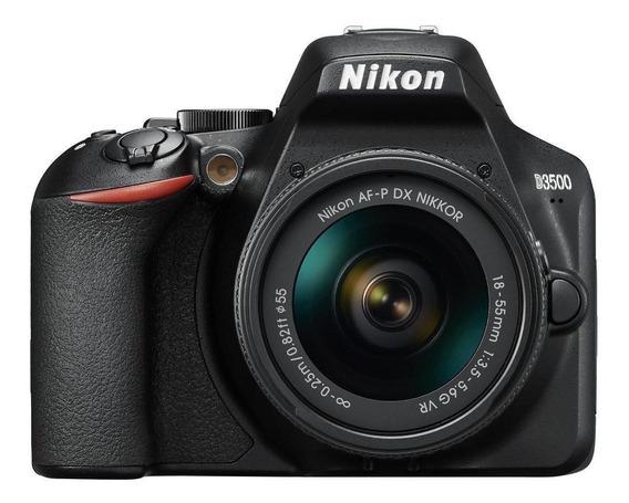 Nikon D3500 18-55mm VR Kit DSLR preta