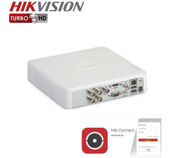 Grabadora Dvr Hikvision Turbo Hd 720p Para 4 Camaras