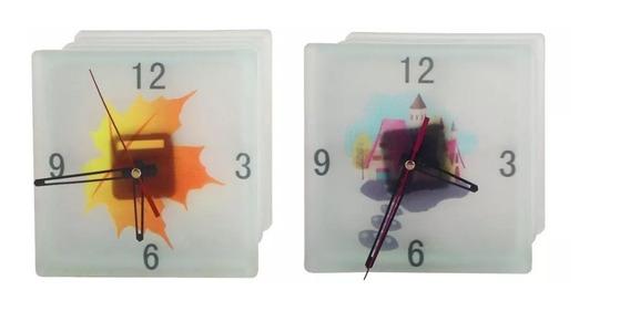 Ladrillo De Vidrio | Vitroblock | Satinado Reloj