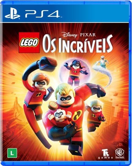 Lego Os Incriveis (mídia Fisica 100% Em Pt-br) - Ps4 (novo)