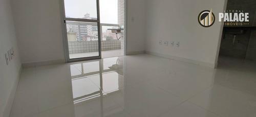 Imagem 1 de 30 de Apartamento Com 2 Dormitórios À Venda, 68 M² Por R$ 360.000,00 - Boqueirão - Praia Grande/sp - Ap1895