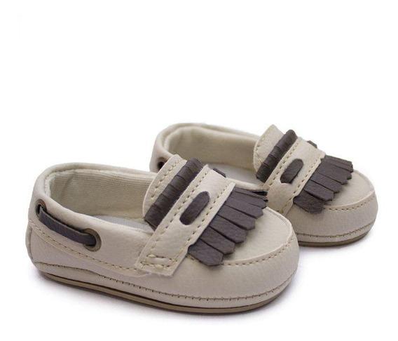 Mocassim Infantil Sapato Bebê Clássico Drive - Oferta