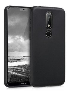 Funda Funda De Silicona Kwmobile Tpu Para Nokia 61 Plus 201