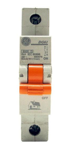 Interruptor Residencial General Electric Dms 1x20a Riel Din