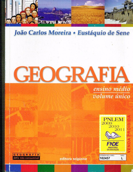 Geografia Ensino Médio (volume Único) - 560 Pag.- Cod. 2688