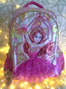 Mochila Escolar Infantil Princesa Bailarina P Entrega