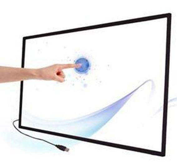 Frame Moldura Touch Screen P/espelho Magico 60 Polegadas