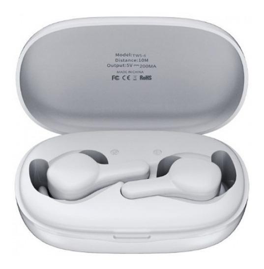 Remax Tws - 6 Fones De Ouvido Estéreo Bluetooth 5.0 Mini Bin