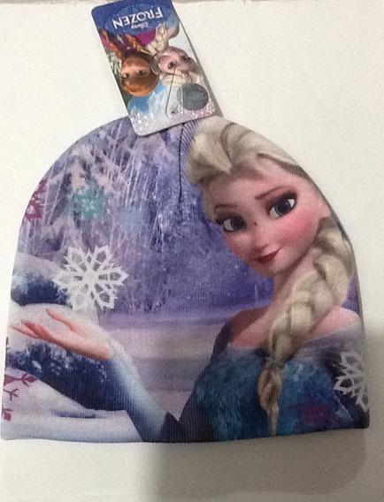 Gorro Bonete Beanie Frozen De Niña