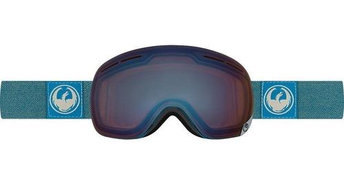 Antiparra Ski/snowboard // Dragon X1 Hone Blue + Lente
