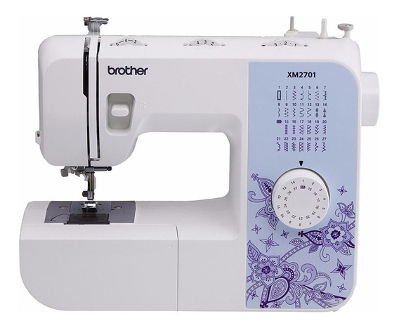 Máquina de coser Brother XM2701 Blanco 110V