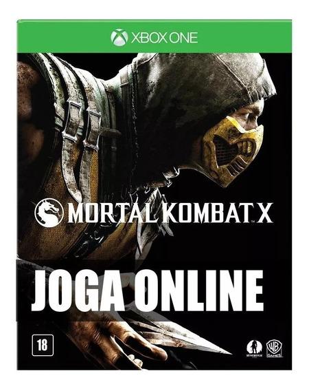 Mortal Kombat X Online Xbox One - Original - Primário