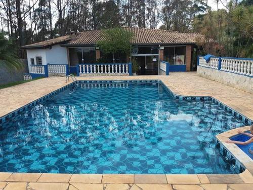 5.000 M², Casa Ampla Com 06 Dormitórios, Playground, Piscina
