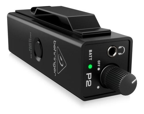 Imagen 1 de 6 de Amplificador Auricular Monitor In Ear Behringer P2