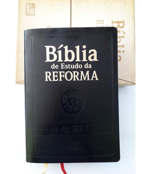 (mkb) Bíblia De Estudo Da Reforma *500anos 1517-2017 ( Sbb )