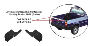 Arremate Caçamba Fiat Fiorino Pick Up 88 À 98 - Par