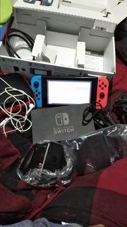 Vendo Nintendo Switch Hackeada Y 4 Joy Cons