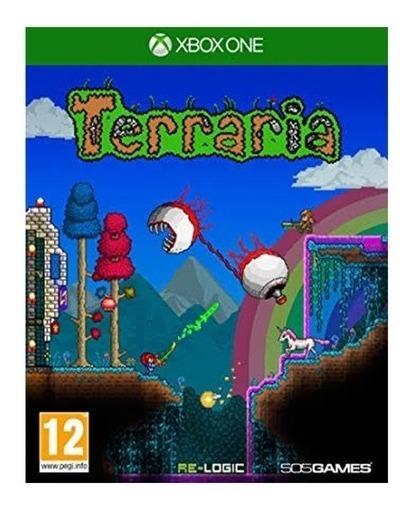Terraria Jogos Xbox One Midia Fisica Original Novo Lacrado
