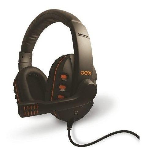 Fone De Ouvido Para Games Headset Action Hs200 Preto Oex