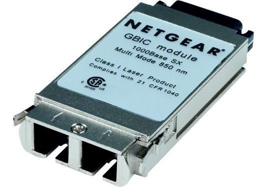 Switch Netgear Agm721f Managed Fiber Gigabit Módulo ®