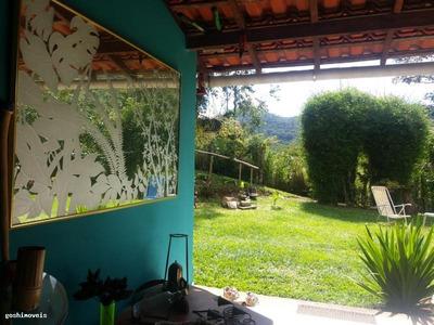 Casa Para Venda Em São José Do Vale Do Rio Preto, 4 Dormitórios, 1 Suíte, 2 Banheiros - Ci290