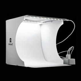 Mini Studio Fotográfico Portátil 40 Leds Photo Box Pro