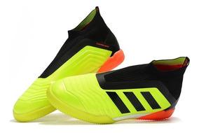 Chuteira Futsal adidas Predator Tango 18 Amarela Original