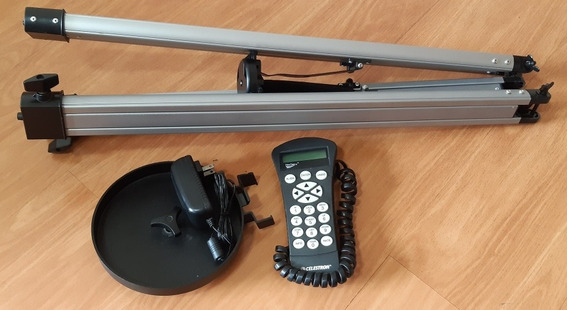 Hand Control Celestron Tripe Porta Objetos Do Telescopio