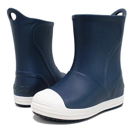 Botas De Lluvia Crocs Bump It Boot Niño Azul/ Bl 20351543w
