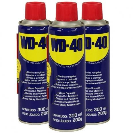 Lubrificante Desengripante Multiuso Wd40 Spray 300ml (cx.c/3